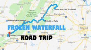 This Dazzling Frozen Waterfall Road Trip Through Virginia Is The Perfect Winter Outing