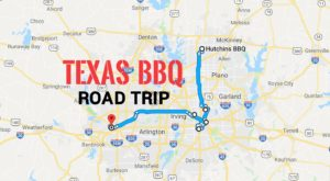 This Authentic Texas Barbecue Trail Is A Food Lover's Dream Come True