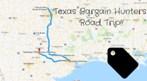 This Bargain Hunters Road Trip Will Take You To The Best Thrift Stores In Texas