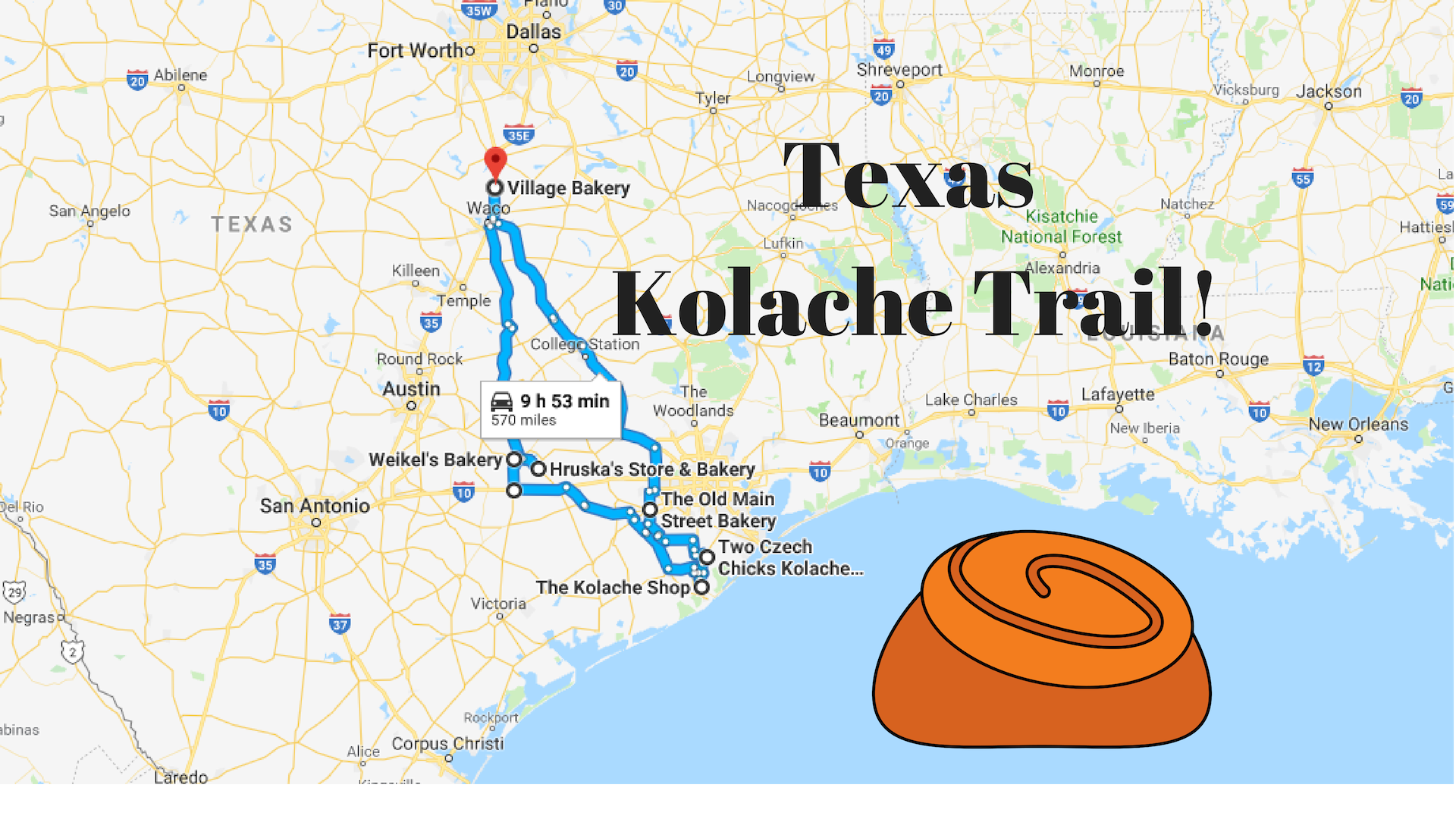 Road Trip To 8 Of The Best Kolache Shops In Texas