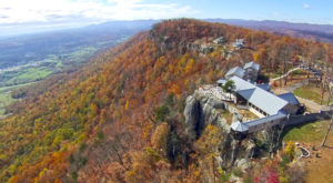 Enjoy The Best View In All Of Tennessee At This Unique Lookout Restaurant