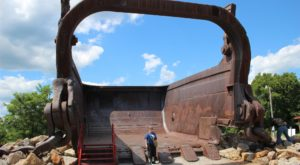 Remnants Of The World's Largest Earth Moving Machine Are Hiding Right Here In Ohio