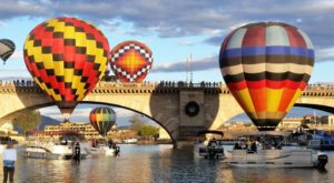 Spend The Day At This Hot Air Balloon Festival In Arizona For A Uniquely Colorful Experience