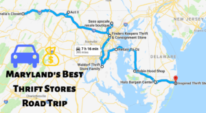 This Bargain Hunters Road Trip Will Take You To The Best Thrift Stores In Maryland