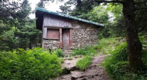 Take A Break From The Trails At This Rustic Stone Cabin In Vermont