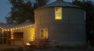 This Grain Bin Bed & Breakfast In Washington Is The Ultimate Countryside Getaway