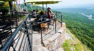 Enjoy The Best View In All Of Georgia At This Unique Lookout Restaurant