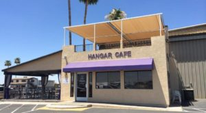 Watch Planes Take Off At This Airport Hangar Restaurant In Arizona