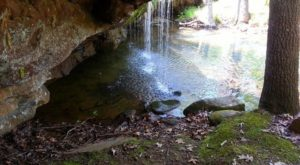 Not Many Know The Story Of The War That Took Place Under An Arkansas Waterfall