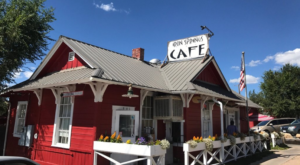 This Historic Arizona Train Depot Is Now A Beautiful Restaurant Right On The Tracks