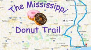 Take The Mississippi Donut Trail For A Delightfully Delicious Day Trip
