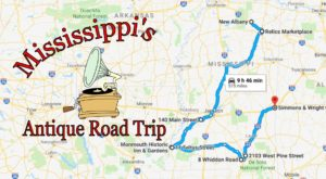 Here's The Perfect Weekend Itinerary If You Love Exploring Mississippi's Best Antique Stores