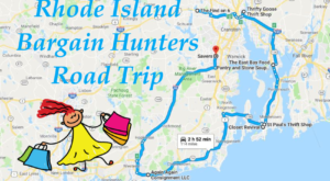 This Bargain Hunters Road Trip Will Take You To The Best Thrift Stores In Rhode Island