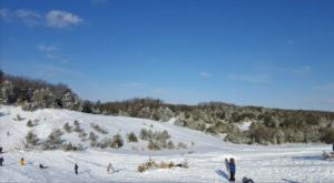 Go Sledding On The Sand Dunes In Rhode Island For An Outrageous Winter Day
