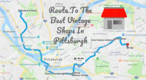 Follow This Route To The 6 Best Vintage Stores In Pittsburgh