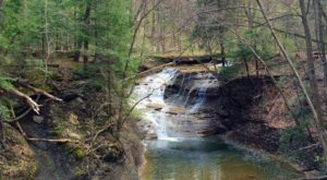 The Enchanting Waterfall Hike Near Cleveland That's Mystifying In The Springtime