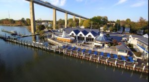 This Maryland Restaurant Right On The Canal Is The Definition Of Dinner With A View