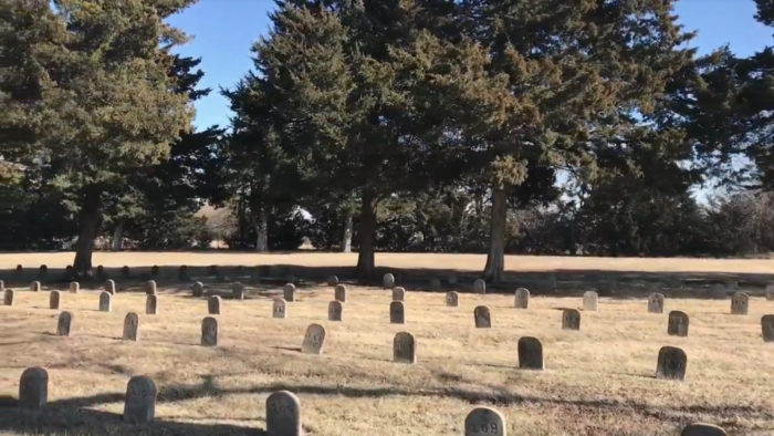 The Most Unnerving Cemetery In Kansas Where Each Headstone Is Just A Number