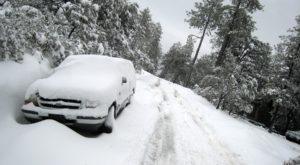 Non-Stop Snow And Cold Have Been Hitting Arizona – And There's More Coming