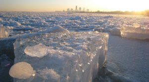 This Year's Icy Arctic Freeze Has Triggered An Unusual Natural Event In Cleveland
