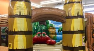The Tropical-Themed Indoor Playground In Massachusetts That's Insanely Fun