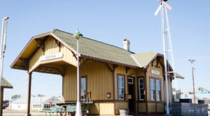 There's Only One Remaining Train Station Like This Around Austin And It's Magnificent