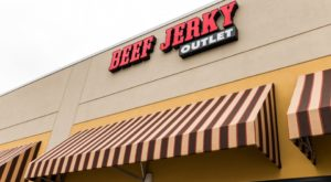 The Beef Jerky Outlet Near Austin Where You'll Find More Than 200 Tasty Varieties