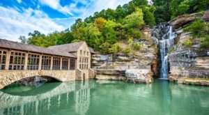 The Breathtaking Waterfall Restaurant In Missouri Where The View Is As Good As The Food