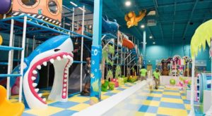 The Ocean-Themed Indoor Playground In Maryland That's Insanely Fun