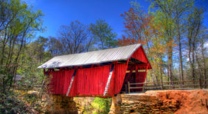 7 Undeniable Reasons To Visit The Oldest And Longest Covered Bridge In South Carolina