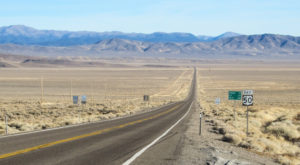 Take A Drive Down One Of Nevada's Oldest Roads For A Picture Perfect Day
