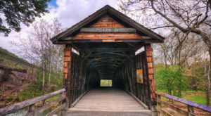 6 Undeniable Reasons To Visit The Oldest Covered Bridge In Virginia