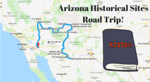 This Road Trip Takes You To The Most Fascinating Historical Sites In All Of Arizona