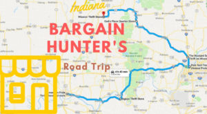 This Bargain Hunters Road Trip Will Take You To The Best Thrift Stores In Indiana