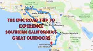 Take This Epic Road Trip To Experience Southern California's Great Outdoors