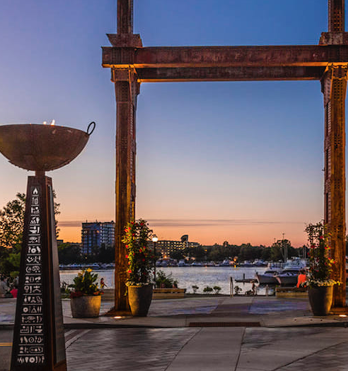 Enjoy A Fire Pit At This Riverside Restaurant In Massachusetts