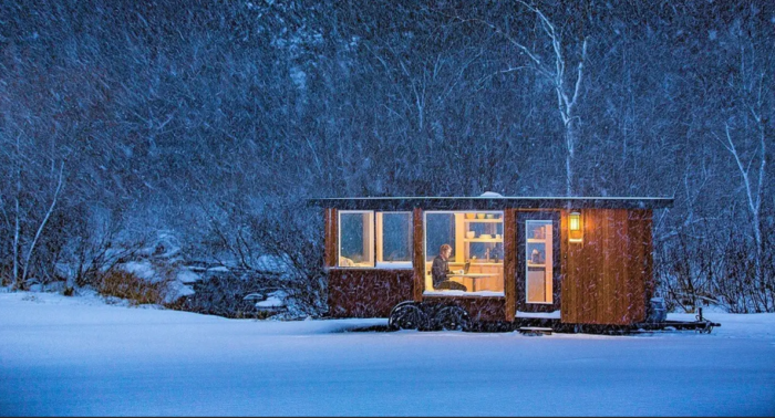 This Tiny Glass Home Might Be The Most Unique Accommodation On The East Coast