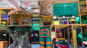 The Jungle-Themed Indoor Playground Near Detroit That's Insanely Fun