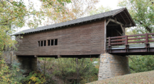 7 Undeniable Reasons To Visit The Oldest And Longest Covered Bridge In Tennessee