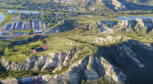 A Drone Flew Over A State Park In North Dakota And Captured Gorgeous Footage