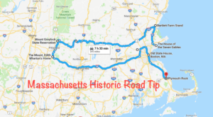 This Road Trip Takes You To The Most Fascinating Historical Sites In All Of Massachusetts