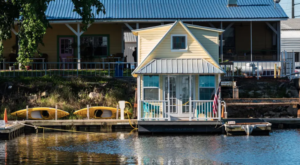 Once You Step Inside This Magical Floating Bungalow, You'll Never Want To Leave