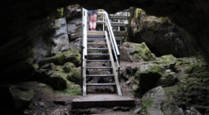 Most People Don't Know This Limestone Cave In Washington Exists, And You Can Go Inside