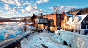 This Waterfall Restaurant In Vermont Is The Most Enchanting Place To Dine