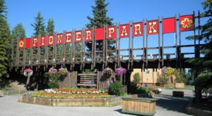 Most People Don't Know About This Pioneer Theme Park And Salmon Bake In Alaska