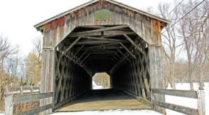 8 Undeniable Reasons To Visit The Oldest And Longest Covered Bridge In Wisconsin