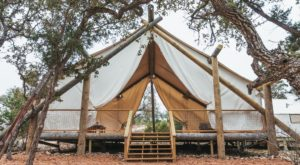 Spend A Night Under The Stars At This Glamorous Camping Destination Near Austin