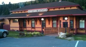 This Historic New Hampshire Train Depot Is Now A Beautiful Restaurant Right On The Tracks