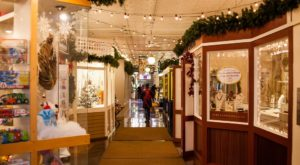 The Indoor Main Street In Massachusetts With Treasures Around Every Corner