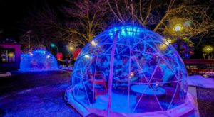 Hang Out In An Igloo At This One-Of-A-Kind Wisconsin Riverfront Patio